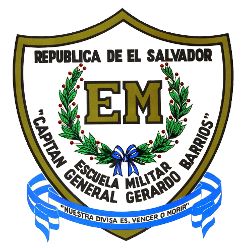 Captain General Gerardo Barrios Military School Emblem