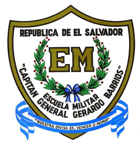 Captain General Gerardo Barrios Military School Emblem