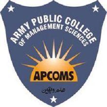 Army Public College of Management Sciences Emblem