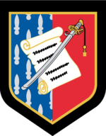 French Gendarmerie Nationale Officers School Emblem