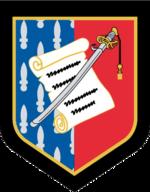 French Gendarmerie Nationale Officers School Emblem