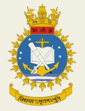 Indian Naval Academy Emblem