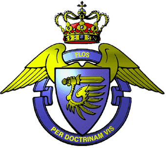 Royal Danish Air Force Officers School Emblem