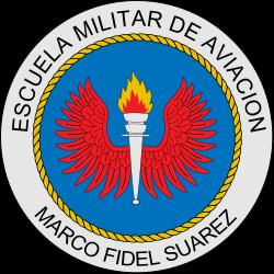 Marco Fidel Suarez Military Aviation School Emblem