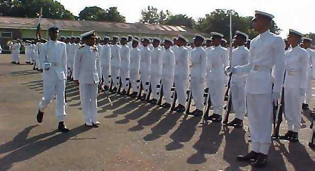 INS Venduruthy (Seamen Training) Emblem