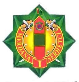 Turkmenistan State Border Service Institute Emblem